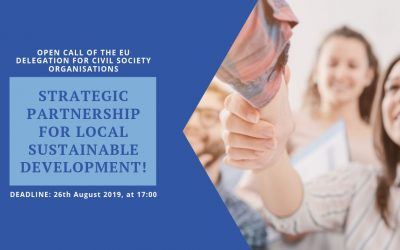 Open call of the EU Delegation for Civil Society Organisations